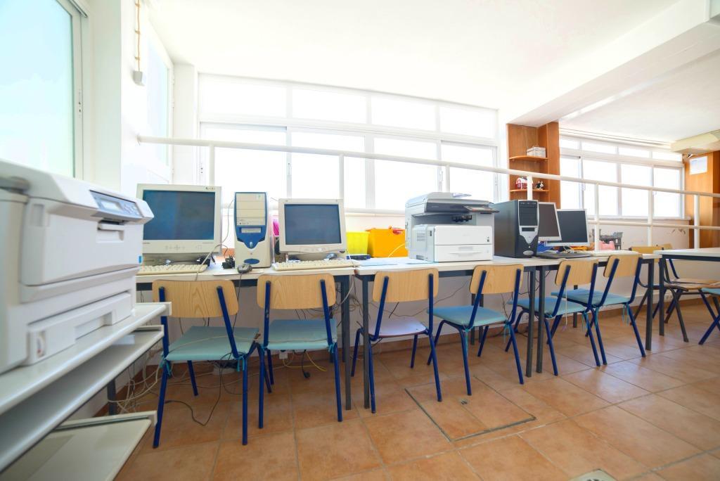 Sala de Computadores